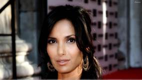 Padma Lakshmi Smiling Face Closeup At The Black Ball UK
